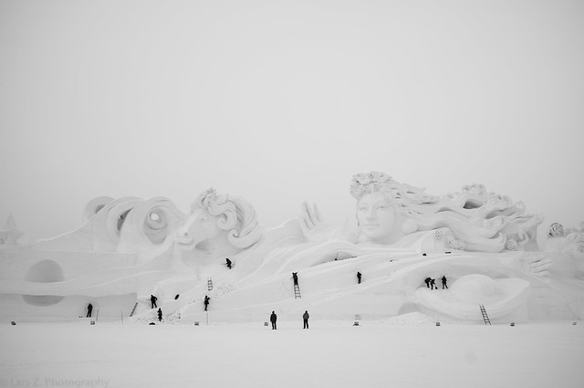 Ice and Snow Festival, Harbin. 冰雪大世界