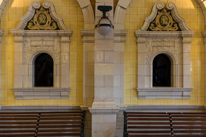 No More Tickets Sold Here at Dunedin Railway Station