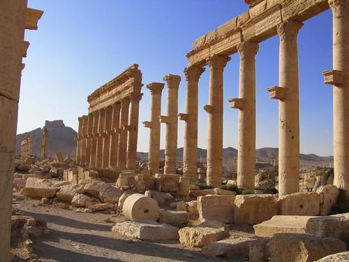 Foto de las ruinas de Palmira (Siria)