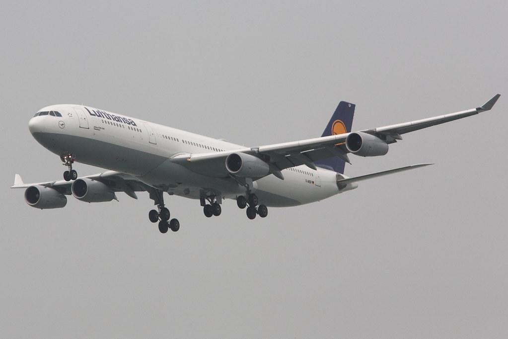 D-AIGP - A343 - Lufthansa