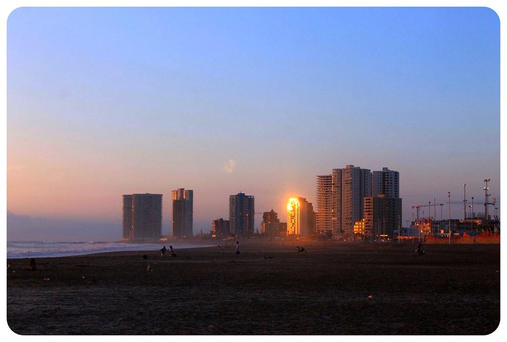 iquique at sunset