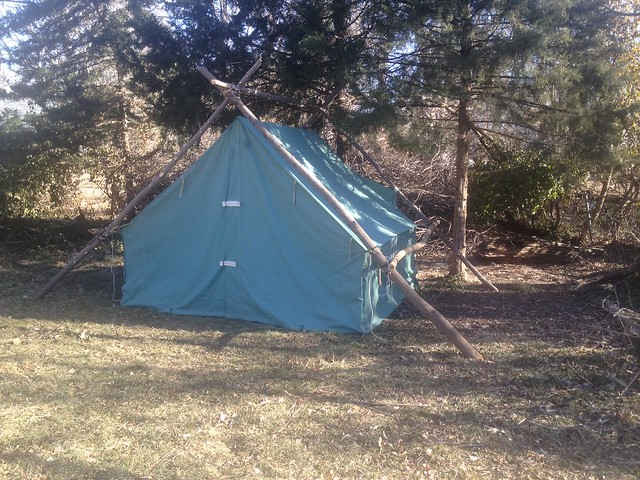 ... I fell back to sleep before making certain that the new wood I added caught fire - then woke up about an hour later and it was 8 degrees in the tent. & DIY winter shelters/hot tents and wood stoves | Bushcraft USA Forums