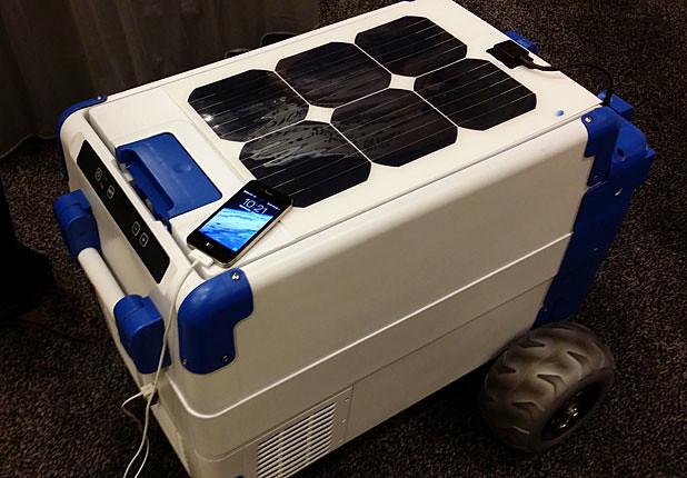 Solarcooler Refrigerador Portatil Que Funciona Con