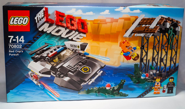 REVIEW LEGO 70802 The LEGO Movie - La poursuite de méchant flic