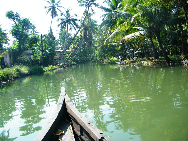 boating in Kerala backwaters, Kollam