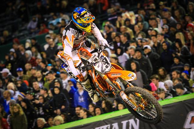 BTO Sports-KTM-WPS Anaheim 3 Supercross Race Report