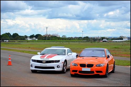 Chevrolet Camaro & BMW M3
