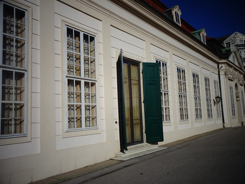 Wien, 3. Bezirk (Schloss Belvedere), Palacio de Belvedere, Belvedere Palace, Palazzo di Belvedere, le Palais de Belvedere (the lower part), Prinz-Eugen-Straße/Landstraßer Gürtel