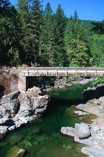 Koksilah River Park, Shawnigan Lake, Vancouver Island, British Columbia, Canada