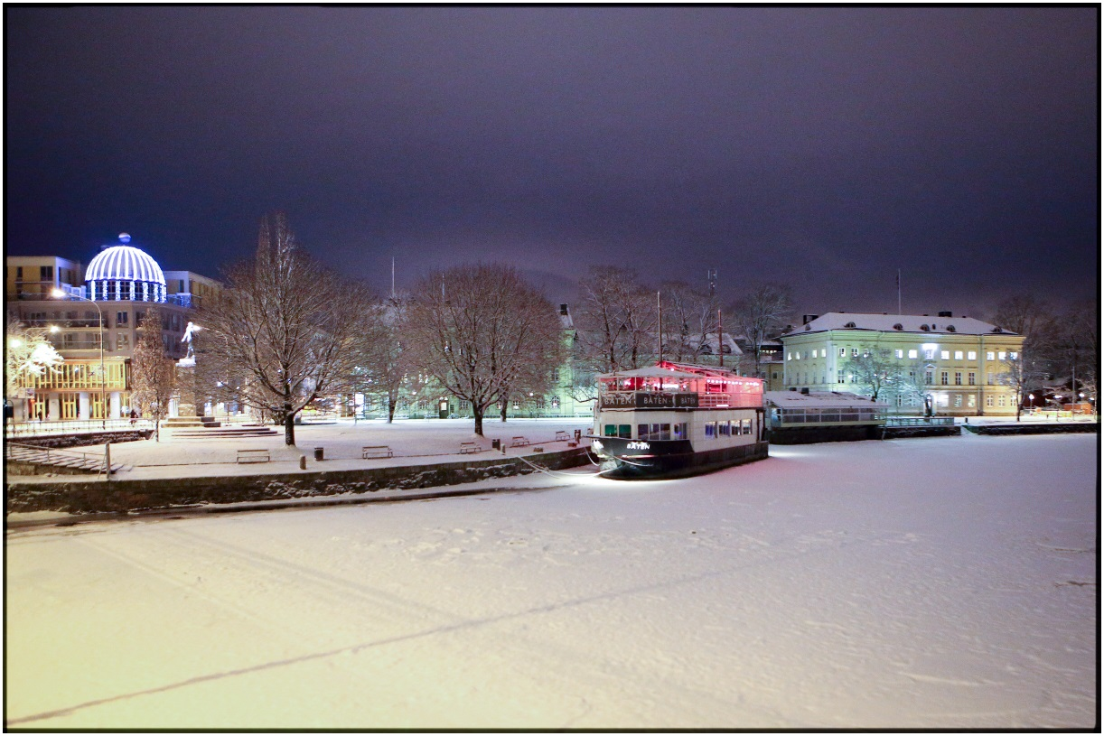 Karlstad [my town] in the Morning