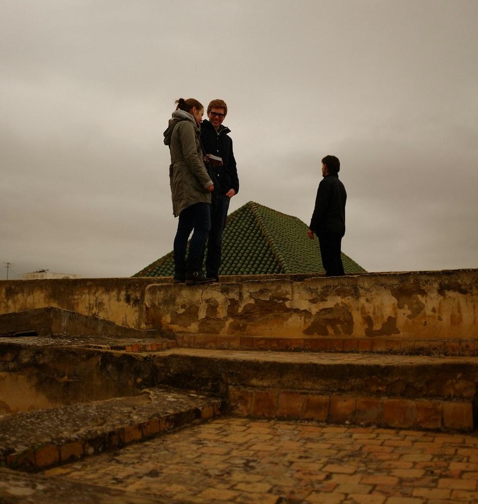 Medersa rooftop ramblers