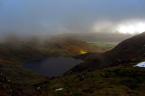 levers water  from coniston old man