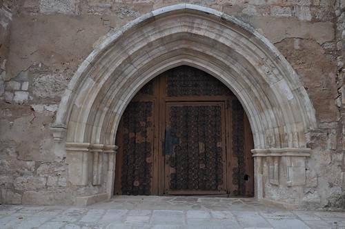 Presencio (Burgos). Iglesia de San Andrés. Portada.