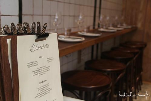 Blanchette restaurant Londres