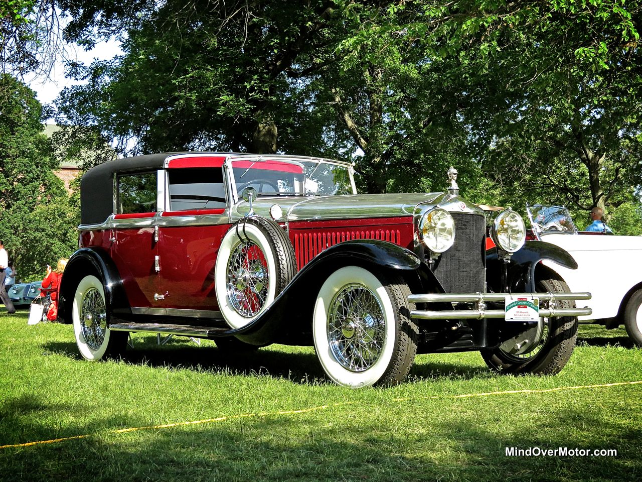 1929 Minerva AK at the Greenwich Concours d'Elegance