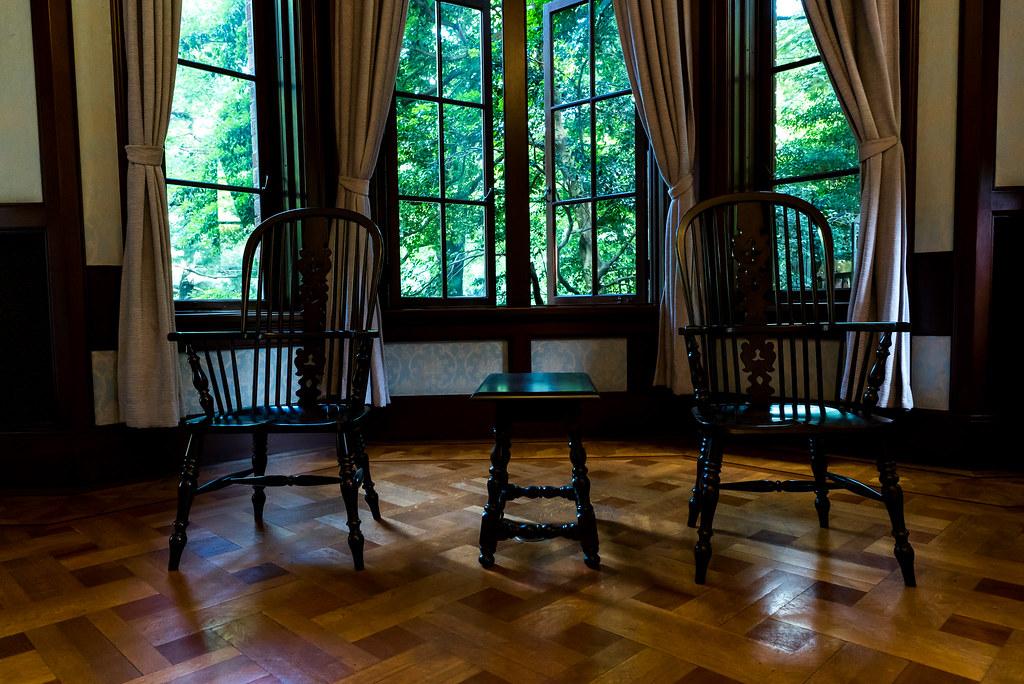 旧前田侯爵邸-椅子-