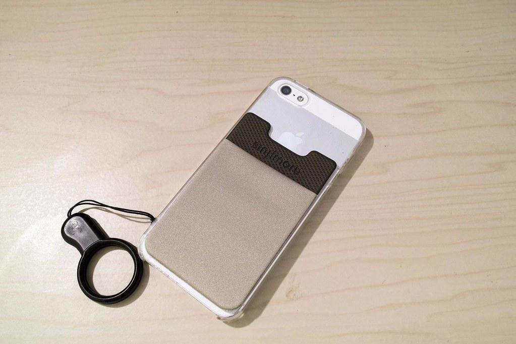 シンジポーチベーシック2をiPhone5に貼った