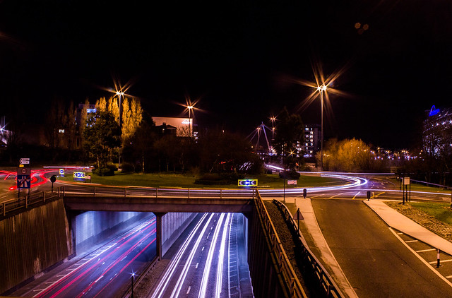 Light Trails.