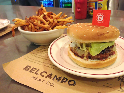 Cheeseburger at Belcampo Meat Co.