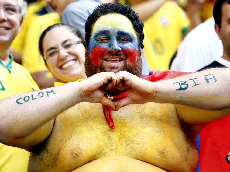 (9)BRASIL-BRASILIA-MUNDIAL 2014-COLOMBIA VS COTE D IVOIRE