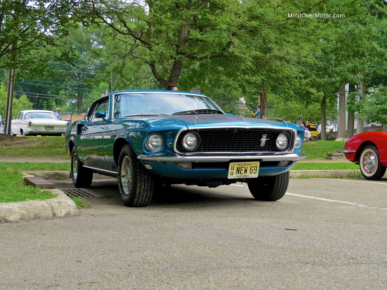 1969 Ford Mustang Mach 1 Front