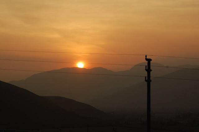Last Sunset in Huaycán, 2013