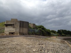 EXDO post and pillbox, Beacon Hill Fort, Harwich