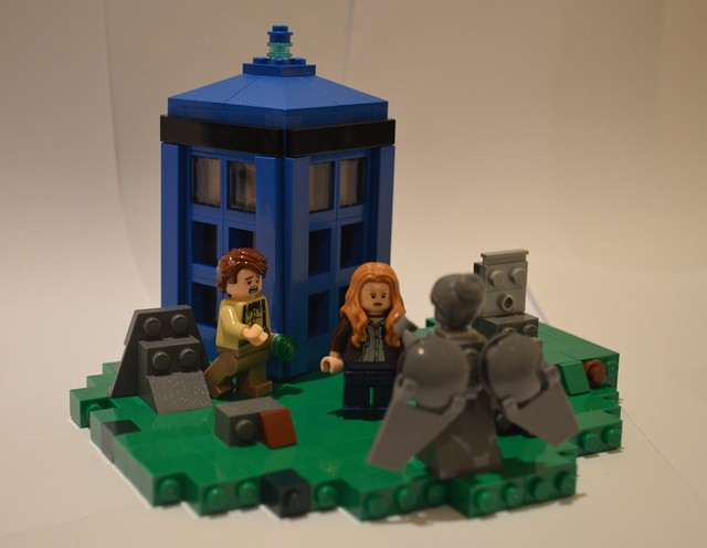 Moc Doctor Who The Angels Take Manhattan Special Lego