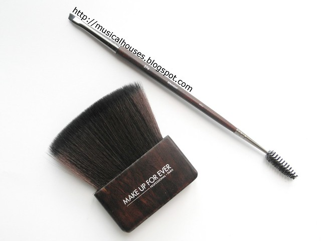 MUFE Artisan Brush Body Kabuki 414 Double Ended Eyebrow Eyelash Brow Brush 274