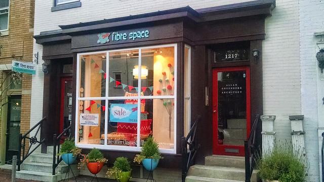 Fibre Space Storefront in Alexandria, Virginia