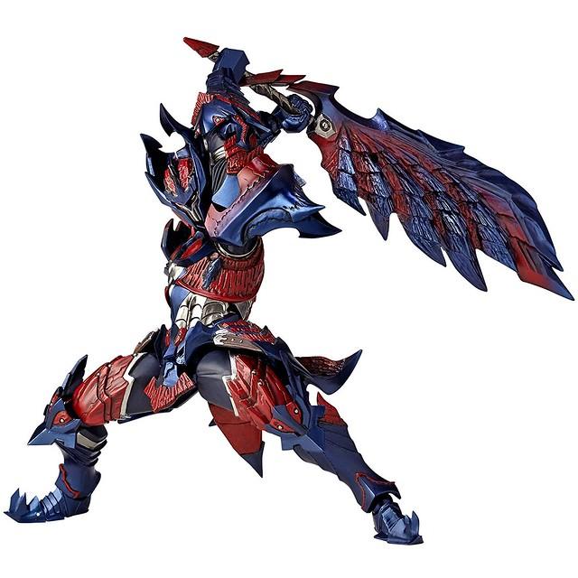 超絕爆熱的巨刃!Vulcanlog 019 《魔物獵人X》斬龍套裝  ディノシリーズ 男劍士