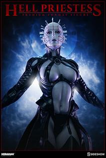 獵奇血腥程度再升級!Sideshow《養鬼吃人 Hellraiser》新的地獄修道者 - 地獄女祭司 Hell Priestess
