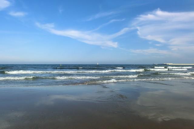 Valencia, Sonntag am Strand