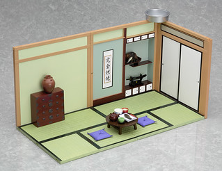 黏土人場景系列 #02 和風生活 和室飯廳/和室客房 再再次販售 ねんどろいどプレイセット