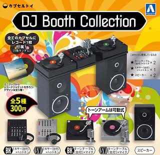 【完整官圖、販售資訊更新】青島文化教材社【DJ Booth Collection】1/12 比例 DJ 台搭配傻瓜龐克剛剛好!!