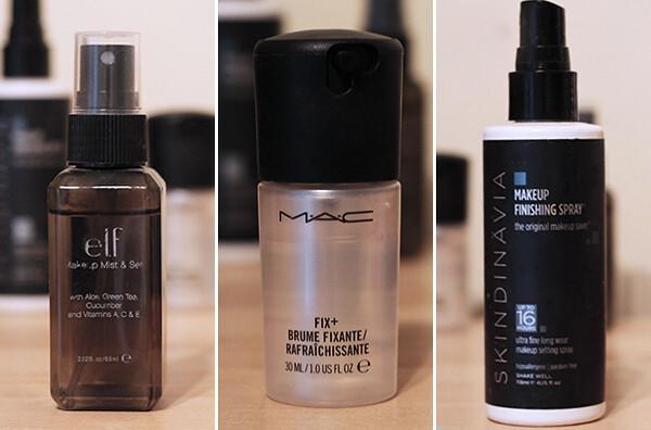 Top 3 Makeup Finishing Sprays