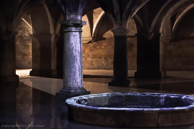 The ancient Portuguese cistern in the City of Mazagan (El Jadida), Morocco