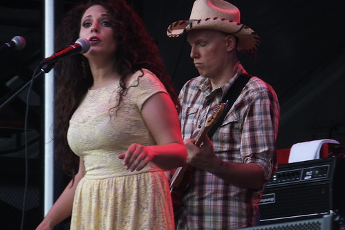 Sarah Jean & The Wild Vines at Ottawa Bluesfest 2013
