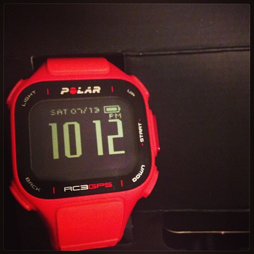 Pretty excited to try this new Polar watch as part of a #fitfluential sponsored campaign #teampolar