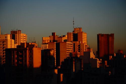 skyline sunrise sãopaulo sampa urbana amanhecer prédios nascerdosol