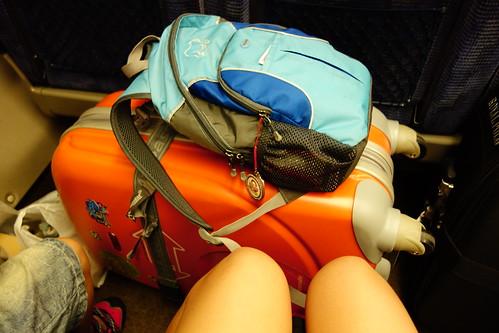 搭新幹線前往岡山
