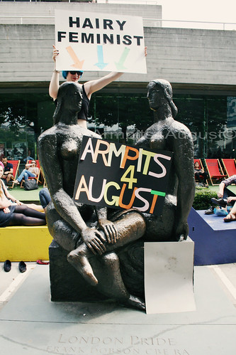 Armpits4August Day of Action, Southbank 27/7/13