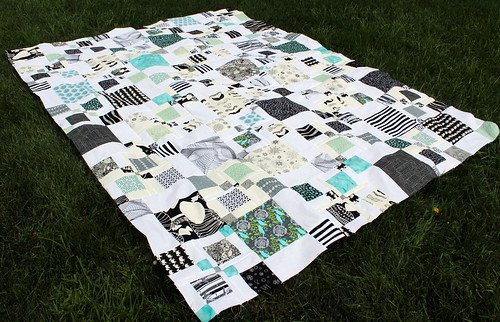 Brian's Quilt Top Pieced!