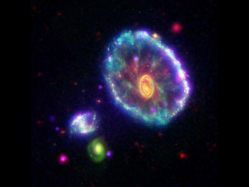 Cosmic Cartwheel of Color