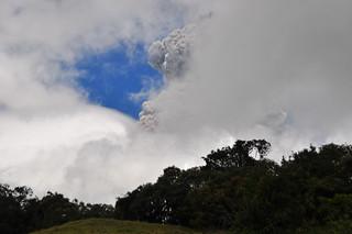 Vulcan Tungurahua, Ecuador