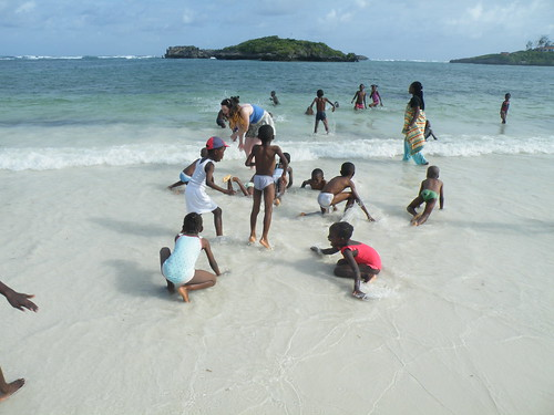 Fun at Watamu Beach
