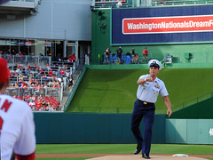 MCPOCG Leavitt attends CG Day Washington Nationals game - 3