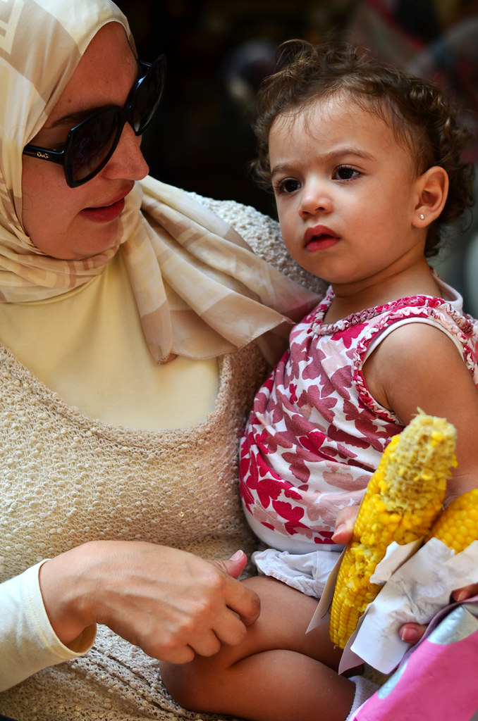 Madre e hija en Turquía, Estambul