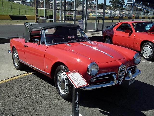1960 Alfa Romeo Giulietta Spider roadster  Flickr  Photo Sharing!