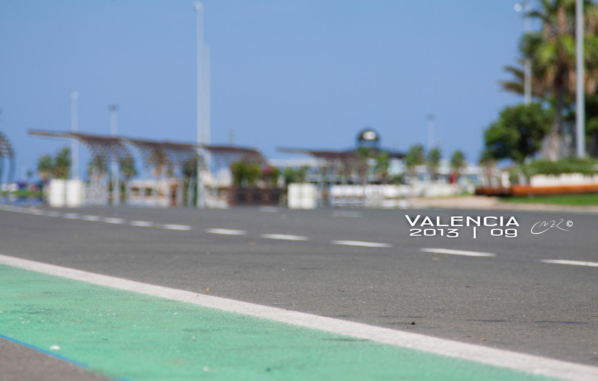 Circuito Urbano La Bañeza : Circuito urbano valencia en la marina